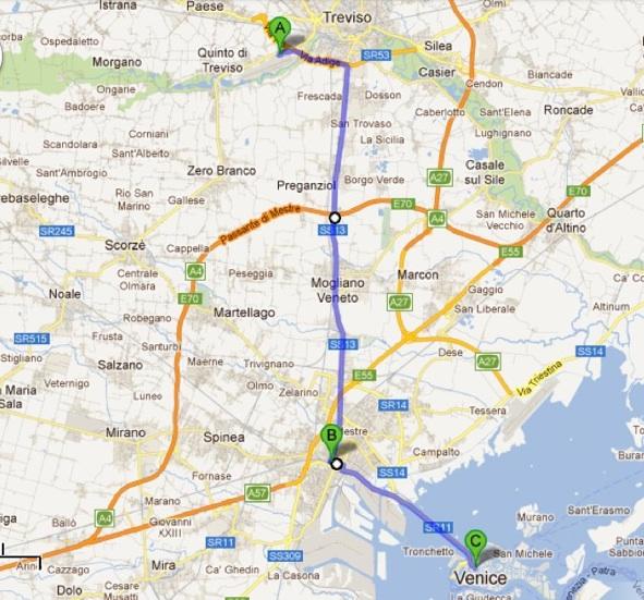 Pilot Near Me >> Treviso Venezia Aeroporto Bus