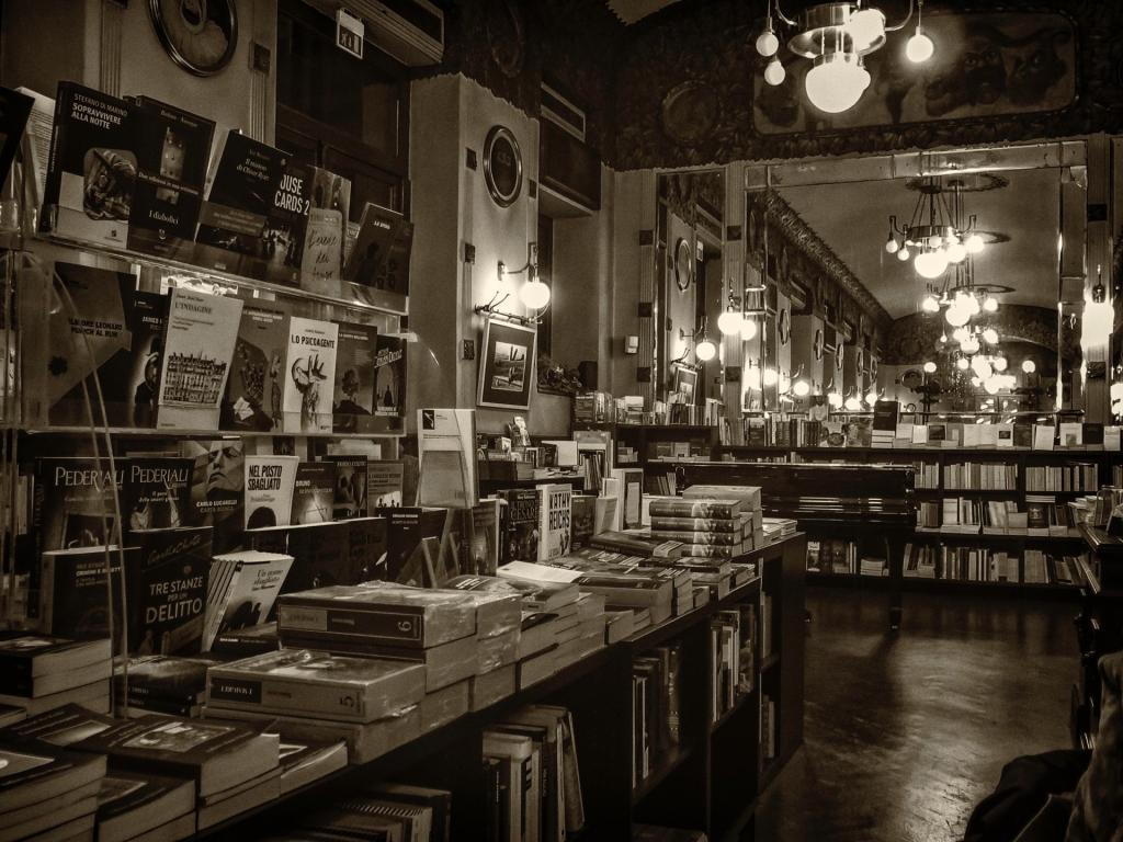 Libreria San Marco a Trieste (foto G. Mussardo)