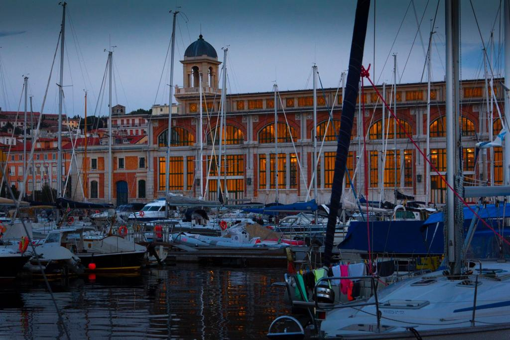 Il salone degli Incanti a Trieste (foto G. Mussardo)